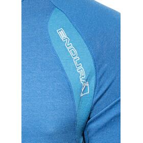 Endura Singletrack Lite Trikot Kurzarm Herren ultramarinblau
